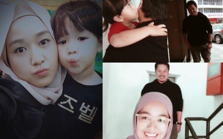 Kegembiraan Ally dan Farah dikatakan telah mempengaruhi mood anak mereka Maream untuk berasa teruja dan gembira pada hari pertama persekolahannya yang bermula minggu lalu. - Foto Instagram
