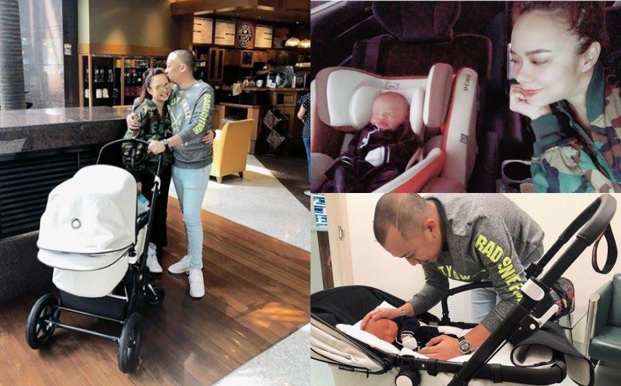 Nora sebelum itu juga memberitahu dia dan anaknya keluar untuk melakukan pemeriksaan kesihatan. - Foto Instagram/ @noradanish